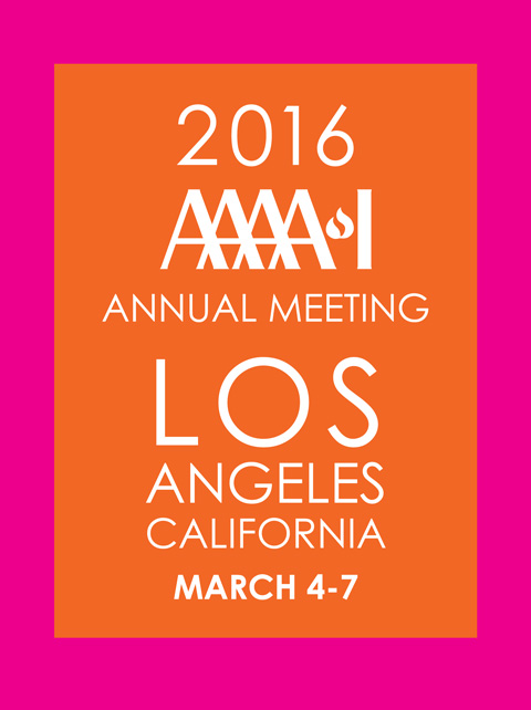 AAAAI 2016 Annual Meeting - Los Angeles, CA